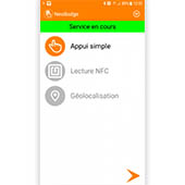 Application de pointage sur smartphone