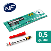 Ethylotest neutre NF - Taux 0,5 g/l