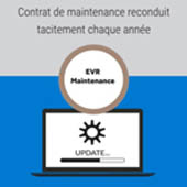 Application digitale Maintenance EVR